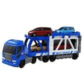 TOMICA交通世界 多美建設拖車 (不含小汽車) 97835