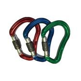 DMM Boa HSM 3colour Pack 鋁合金轉鎖鉤環3件組(紅,藍,綠)