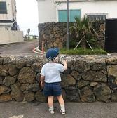 兒童帽子 兒童帽子男童戶外防曬帽太陽帽遮陽帽潮 珍妮寶貝
