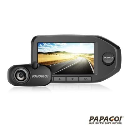 贈送32G記憶卡+3孔 PAPAGO! GoSafe 760 前後雙鏡頭行車記錄器