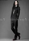 【找到自己】西裝連身服 連體裝 連身衣服 西裝 連身 西裝材質 領子 灰色 /黑色