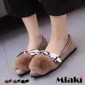平底鞋可愛造型保暖休閒包鞋娃娃鞋