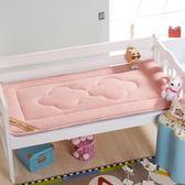 床墊可定做兒童幼兒園床墊嬰兒午睡墊褥小床褥冬夏兩用床墊被 莎拉嘿幼