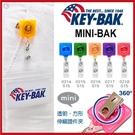 KEY BAK MINI-BAK 透明方形伸縮證件夾(旋轉背夾) 【AH31047】99愛買小舖