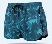 泳褲男防尷尬寬鬆速幹溫泉遊泳褲平角大碼男士泳衣套裝遊泳裝備
