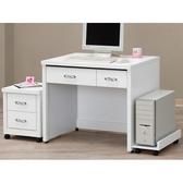 書桌 電腦桌 CV-631-8 白色3尺書桌 (不含其它產品) 【大眾家居舘】