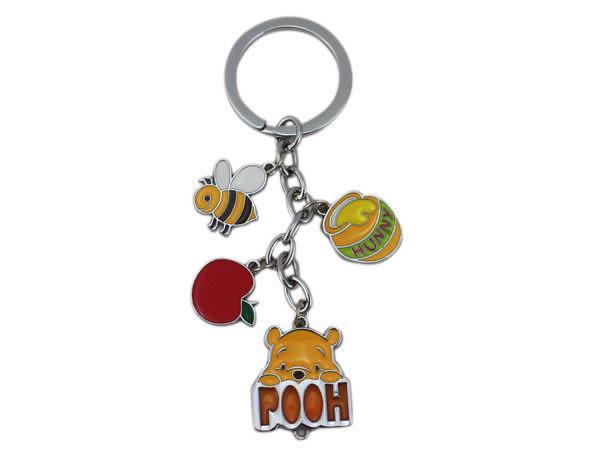 【卡漫城】迪士尼 Disney 小熊維尼 鑰匙圈 ㊣版 Winnie Pooh 吊飾環 裝飾