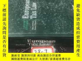 二手書博民逛書店European罕見Tax LawY154527 ben j.m.terra woltes kluwer