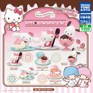 全套5款【日本正版】三麗鷗 LOVE草莓巧克力 扭蛋 轉蛋 公仔 凱蒂貓 雙子星 大耳狗 帕恰狗 - 894565
