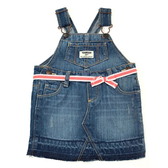 OSHKOSH 牛仔吊帶裙 藍綁帶 | 女寶寶 | 北投之家童裝【OS434G033】