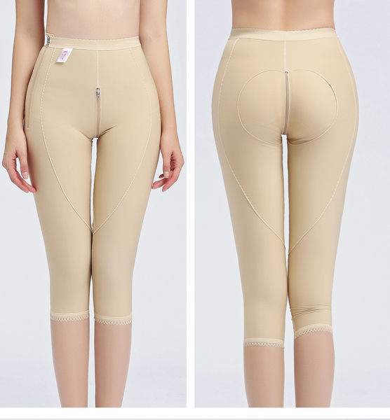 提臀束大腿裤 高腰收腹七分裤美体内裤女   - janm0013