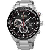 SEIKO 精工錶 Criteria 太陽能 藍寶石水晶鏡面 計時碼錶 SSC579P1 熱賣中!