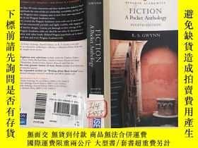 二手書博民逛書店fiction罕見a pocket anthology(four