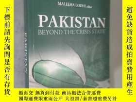 二手書博民逛書店Pakistan罕見Beyond the Crisis State 英文原版Y12480 Maleeha