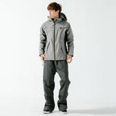 [安信騎士] BRIGHTDAY Aero 9項專利 透氣 兩件式 風雨衣 淺灰 雨衣 A9