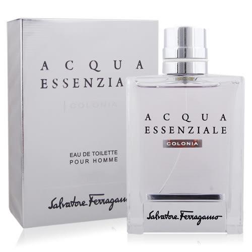 義大利 Salvatore Ferragamo 薩瓦托·費洛加蒙 Acqua Essenziale COLONIA 碧藍之水男性淡香水(100ml)【美麗購】