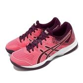 Asics 排球鞋 Gel-Rocket 9 粉紅 白 女鞋 運動鞋 【ACS】 1072A034700