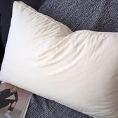 全棉羽絲絨枕頭 無熒光劑機洗慢回彈酒店側睡軟纖維枕芯【小梨雜貨鋪】