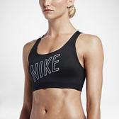 Nike Pro Classic Pad Logo [836419-010] 女 運動 內衣 訓練 瑜珈 舒適 透氣 黑