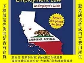 二手書博民逛書店美國加州法律《California罕見Employment La