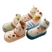 韓系拚色小動物皮革止滑學步鞋 韓系 拚色 動物 皮革 止滑 學步鞋