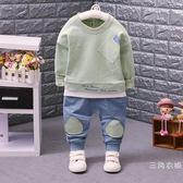 男寶寶春裝套裝0-1-2-3-4周歲兒童裝男裝男童帥氣春裝時尚韓版潮