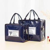 化妝包 防水化妝包女便攜大容量多功能化妝品收納袋包網紅簡約旅行洗漱包 草莓妞妞