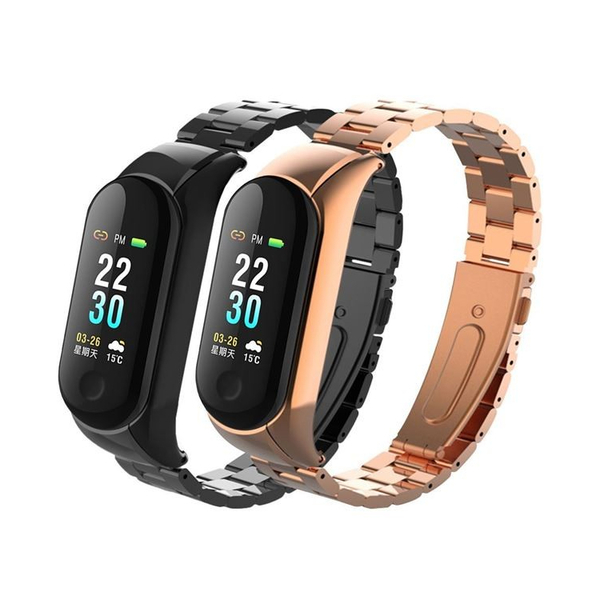 全彩質感防水觸控手環 金屬錶帶 藍牙手環 心率智慧手環 運動手環 藍牙手錶 藍芽手錶 藍芽手環
