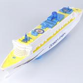 遙控船 兒童男孩玩具船電動萬向燈光音樂豪華游輪模型超大號仿真輪船快艇 夢藝家