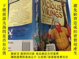 二手書博民逛書店Horrible罕見Histories. The Vicious Vikings:可怕的歷史。邪惡的維京人Y2