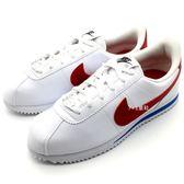 《7+1童鞋》NIKE CORTEZ BASIC SL (GS) 經典白底紅勾阿甘鞋 輕量 休閒運動鞋 F832 紅色