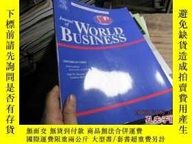 二手書博民逛書店journal罕見of world business volum