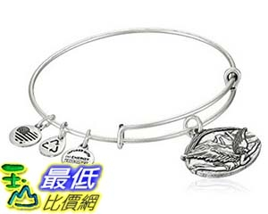 [美國直購] Alex and Ani Guardian of Freedom Expandable Wire Bangle Bracelet, 2.5 手鐲