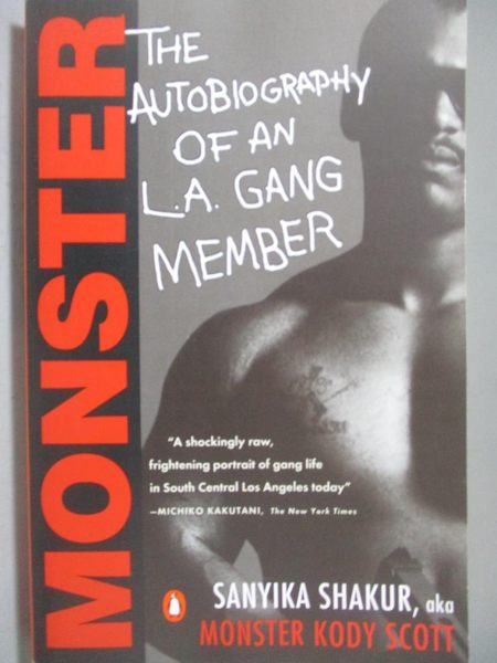 【書寶二手書T4/原文書_OLE】Monster-The Autobiography of an L.A. Gang M