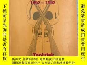 二手書博民逛書店the罕見500 years curse 1492-1992Y1