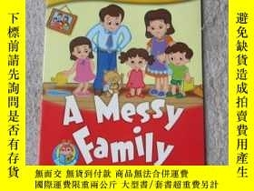 二手書博民逛書店A罕見Messy Family(Storytime Tot Ta