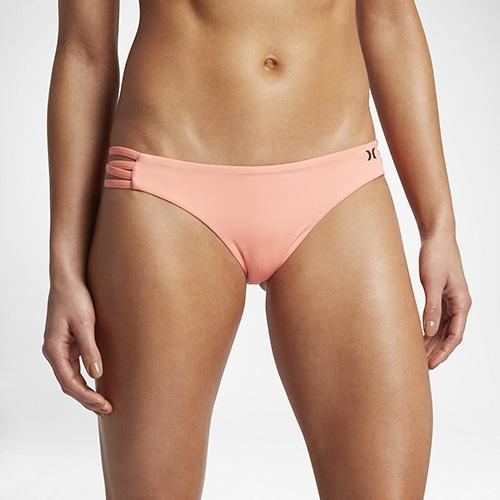 Hurley QUICK DRY SURF BOTTOM 比基尼褲-粉色(女)