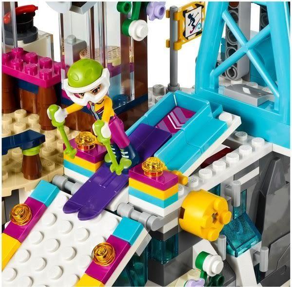 【LEGO樂高】FRIENDS 滑雪渡假村滑雪纜車 41324
