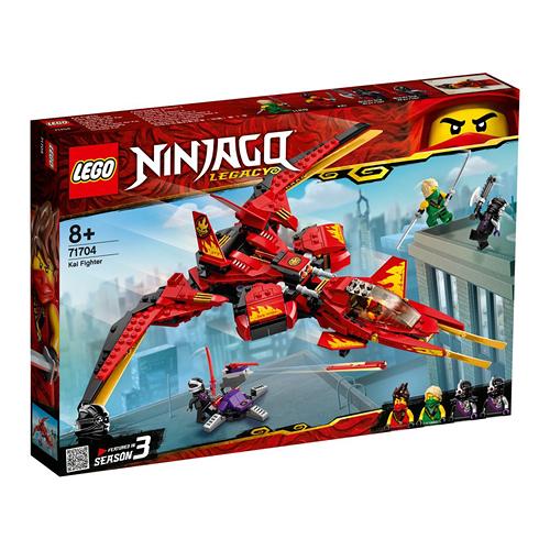 樂高積木 LEGO《 LT71704 》 NINJAGO 旋風忍者系列 - 赤地戰鬥機 / JOYBUS玩具百貨