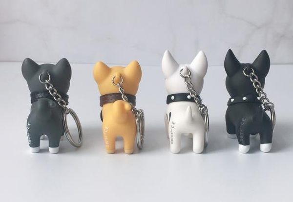 鑰匙扣 柴犬鑰匙扣掛件女韓國可愛車情侶鑰匙鏈一對小狗狗公仔書包包掛飾  綠光森林
