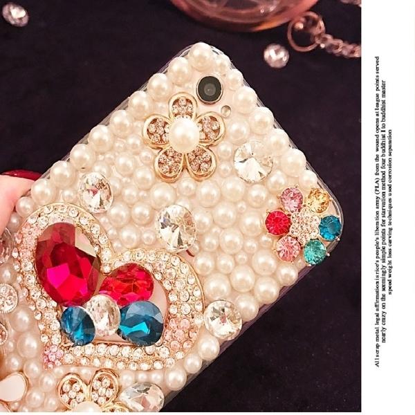 紅米Note8 Pro 紅米Note7 紅米Note6 手機殼 水鑽殼 客製化 訂做 寶石愛心