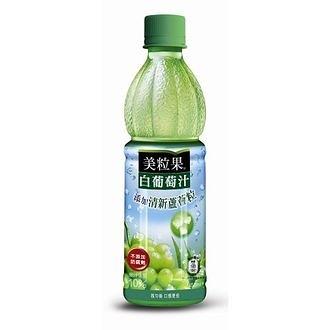 美粒果 白葡萄果汁飲料 450ml【康鄰超市】