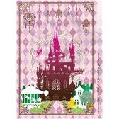 【超值加價購】A5三層小物夾 夏日魔法樂園-旋轉木馬 文件夾 發票收納 粉色