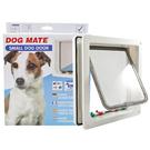 【寵物王國】英國Dog Mate/CA-PT-221D小狗門(白)