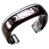 DKNY  派對狂歡夜手環(咖啡金)