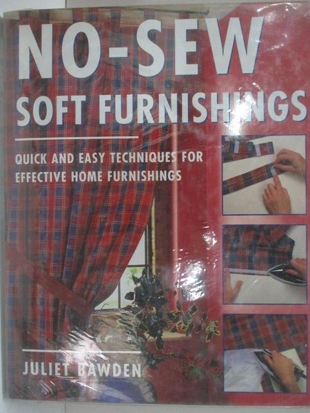 【書寶二手書T1/美工_DNG】No-Sew Soft Furnishings: Quick and Easy Techniques..