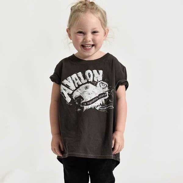 ONETEASPOON AVALON EAGLE TEE T恤-童裝(灰)