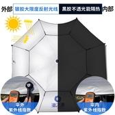 太陽/遮陽傘 漁之源釣魚傘2.2米萬向防雨魚傘加厚2.4大雨傘垂釣遮陽傘漁具釣傘 鉅惠85折