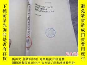 二手書博民逛書店interactive罕見pattern recognition