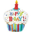 74*91cm鋁箔氣球(不含氣)-杯子蛋糕